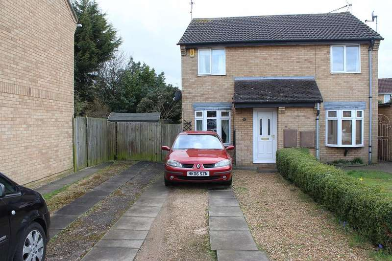 2 Bedrooms Semi Detached House for sale in Uldale Way, PETERBOROUGH, PE4