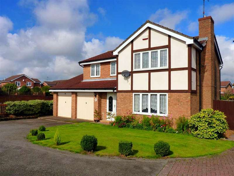 4 Bedrooms Detached House for rent in Medway Drive, Wellingborough, Northamptonshire. NN8 5XT