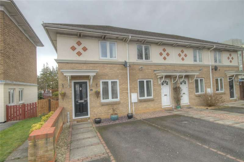 2 Bedrooms End Of Terrace House for sale in Hawkesbury Mews, Darlington, DL3