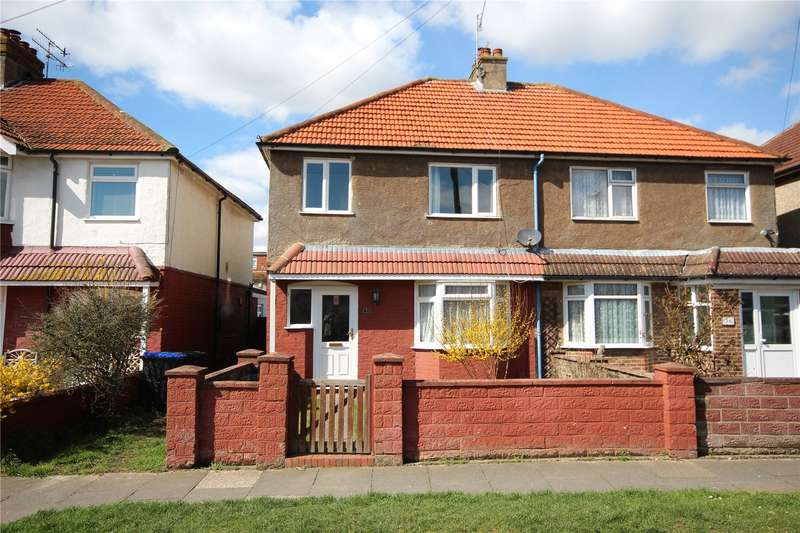 3 Bedrooms Semi Detached House for sale in First Avenue, Lancing, West Sussex, BN15
