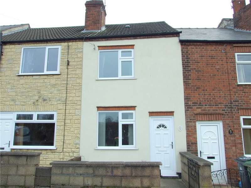 2 Bedrooms Terraced House for sale in Bridle Lane, Leabrooks, Alfreton, Derbyshire, DE55