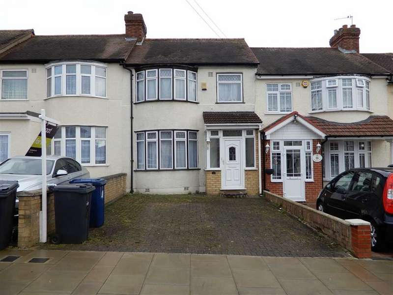 3 Bedrooms Terraced House for sale in Sunnycroft Road, Southall, Middlesex