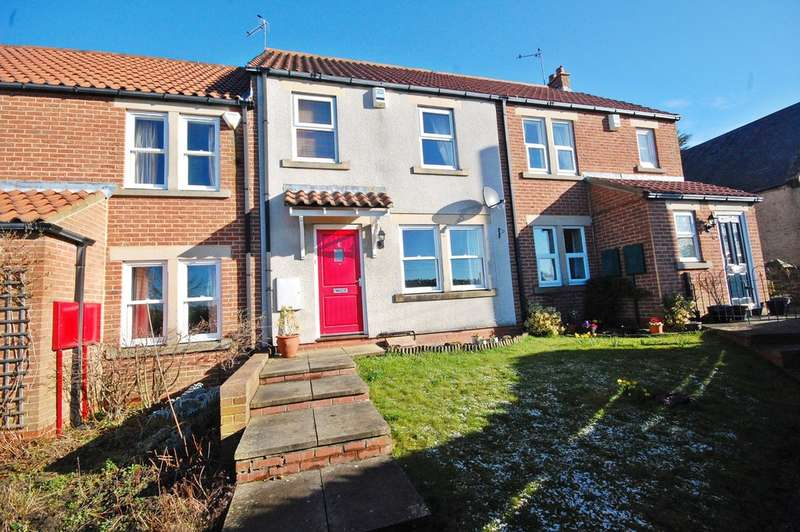 3 Bedrooms Terraced House for sale in Chapel Court, Witton Gilbert, Durham