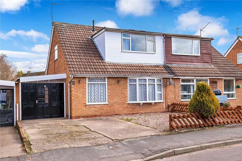3 Bedrooms Semi Detached House for sale in 41 Boughey Road, Newport, Shropshire, TF10