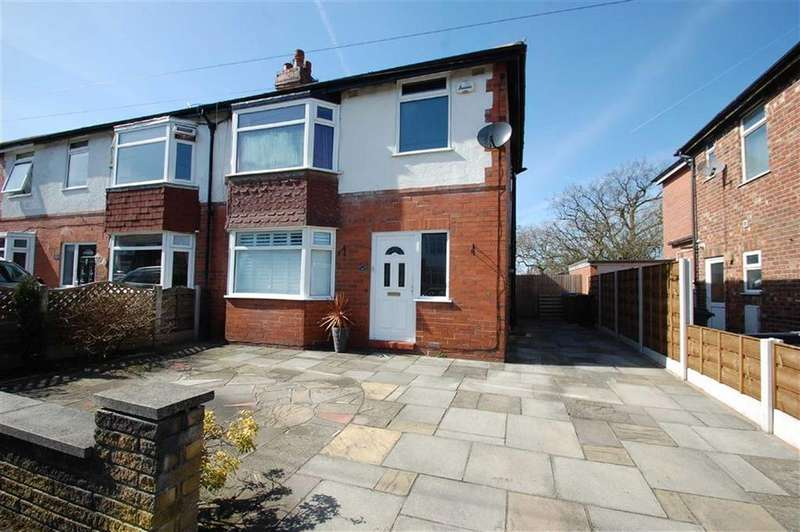 3 Bedrooms Semi Detached House for sale in Dundonald Road, Cheadle Hulme, Cheshire