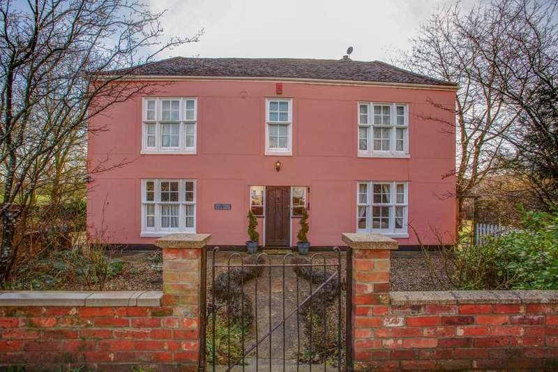5 Bedrooms Detached House for sale in High Street, Long Melford, Sudbury CO10 9BD