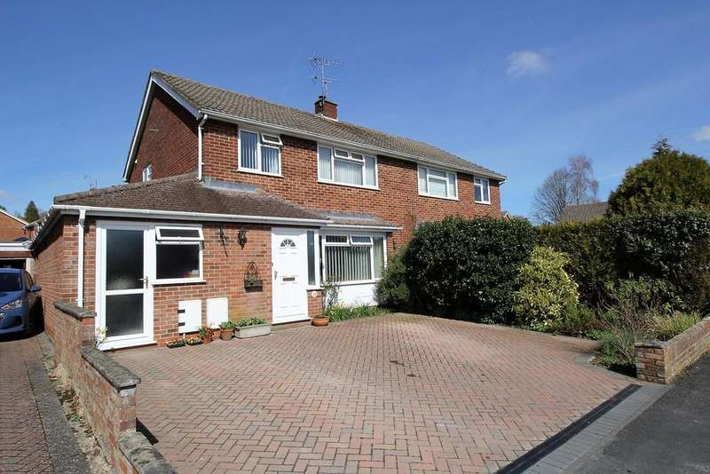 3 Bedrooms Semi Detached House for sale in Downsway, ALTON, Hampshire