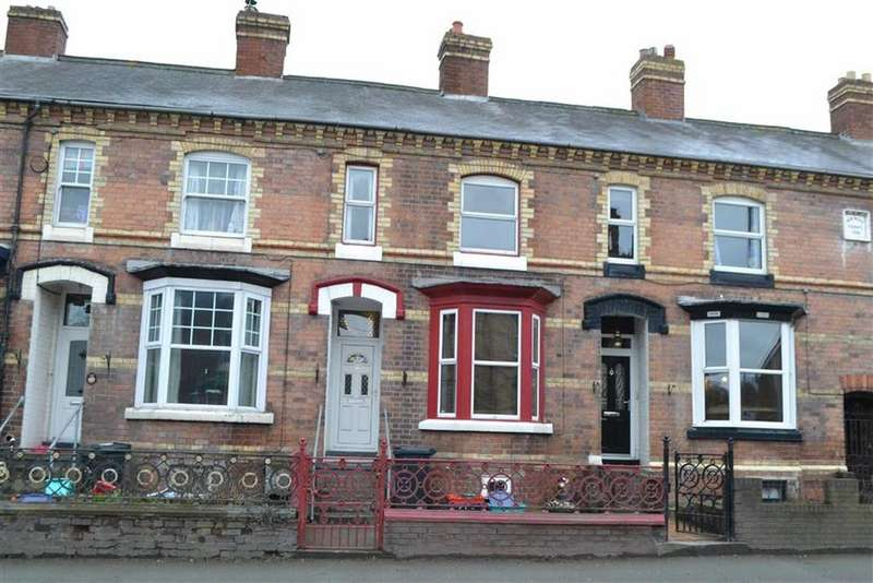 3 Bedrooms Terraced House for sale in 17, New Road, Newtown, Powys, SY16