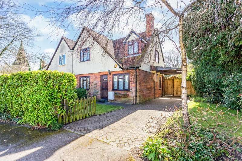 3 Bedrooms Semi Detached House for sale in Trinity Crescent, Sunningdale