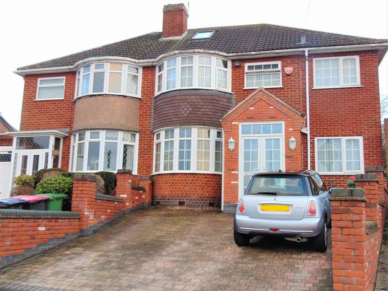 4 Bedrooms Semi Detached House for sale in Kendal Avenue, Coleshill, Birmingham