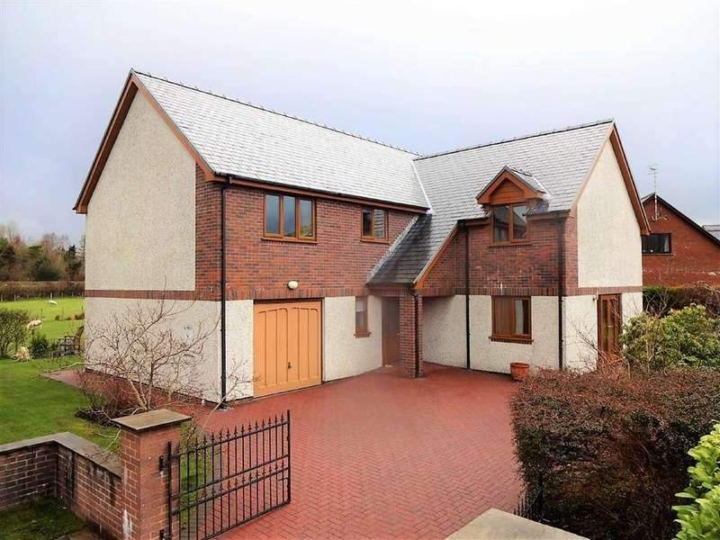 4 Bedrooms Detached House for sale in 4, Coedcau Field, Penegoes, Machynlleth, Powys, SY20