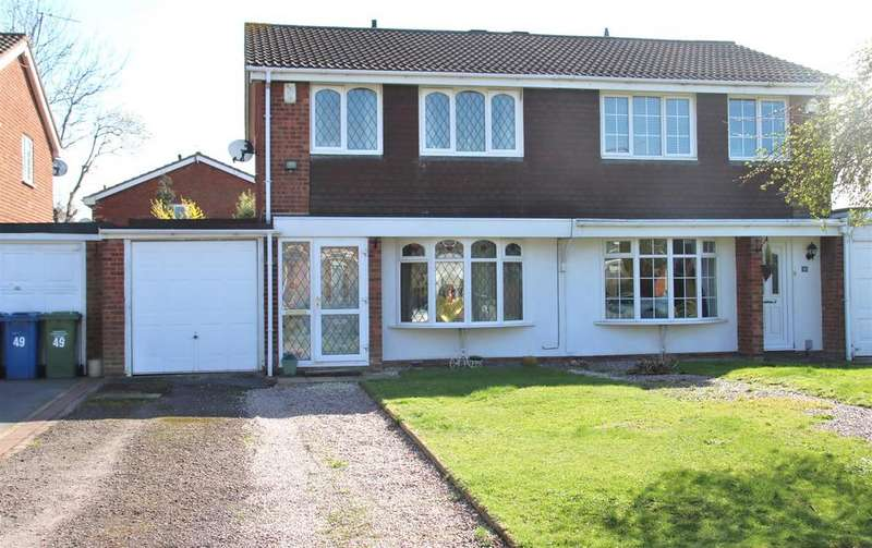3 Bedrooms Semi Detached House for sale in Cottage Farm Road, Two Gates, Tamworth