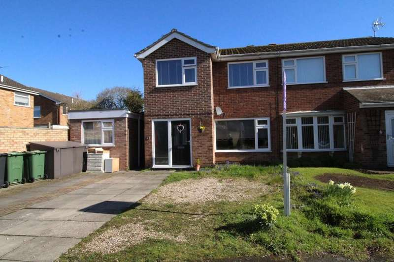 5 Bedrooms Semi Detached House for sale in Conway Close, Loughborough