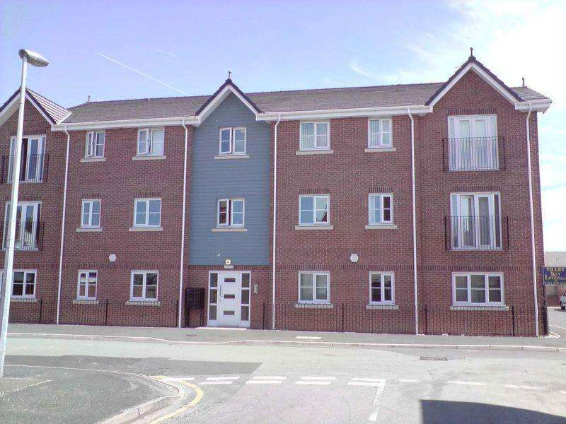 2 Bedrooms Apartment Flat for sale in Siding Court, Guest Street, Widnes