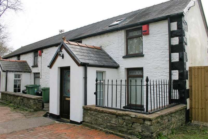2 Bedrooms Semi Detached House for sale in Canal Cottages, 7 Nightingales Bush, Pontypridd, Rhondda, Cynon, Taff, CF37 4BP