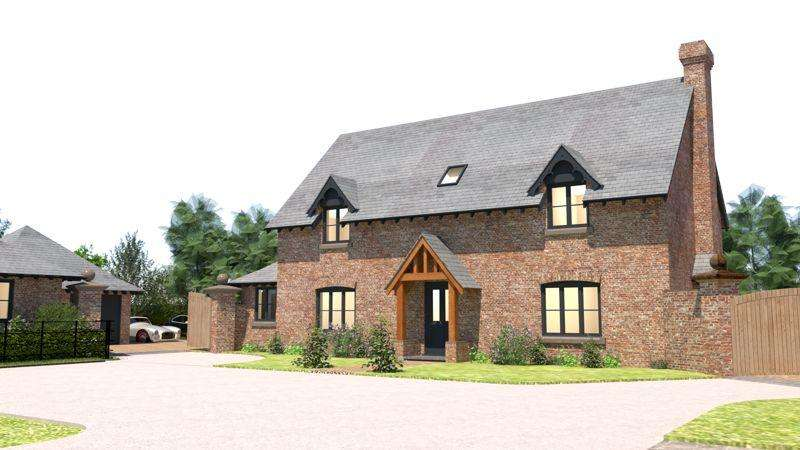 4 Bedrooms Detached House for sale in Harmer Hill, Shrewsbury