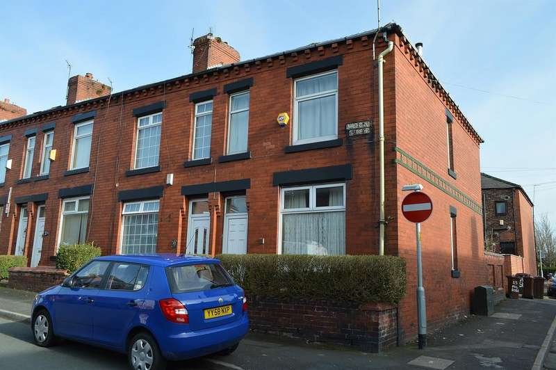 2 Bedrooms End Of Terrace House for sale in Milford Avenue, Hollinwood, Oldham, OL8 3UP
