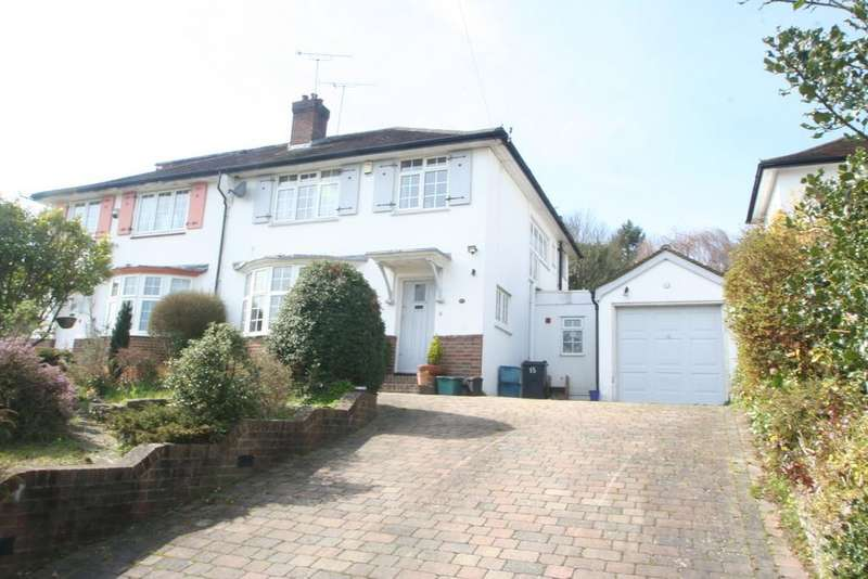 3 Bedrooms Semi Detached House for sale in WEST PURLEY
