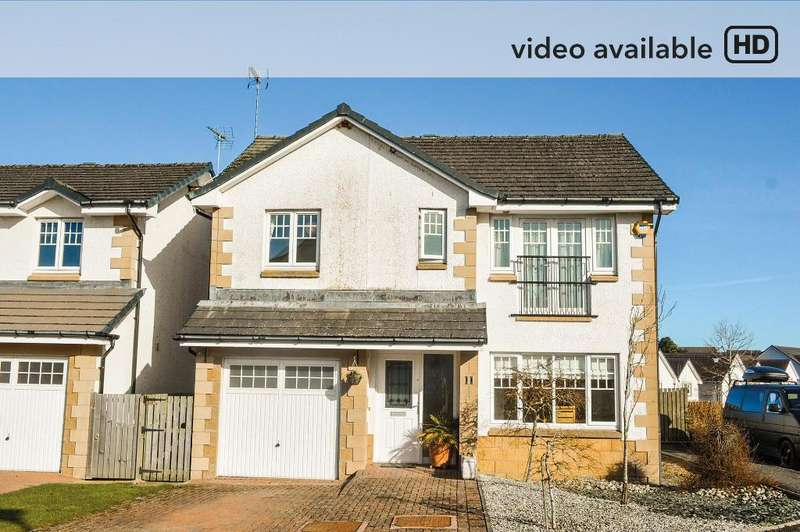 4 Bedrooms Detached House for sale in Mackenzie Court, Dunblane, Stirling, FK15 9BJ