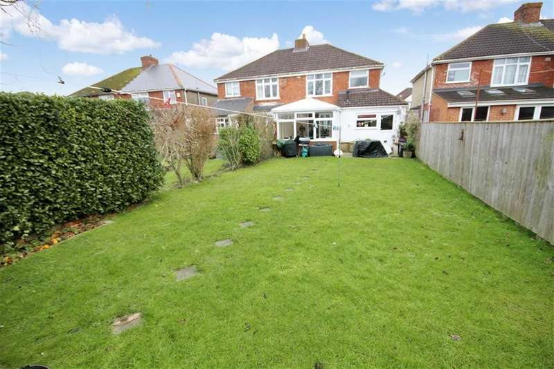 3 Bedrooms Semi Detached House for sale in Brooklands Avenue, Rodbourne Green, Swindon