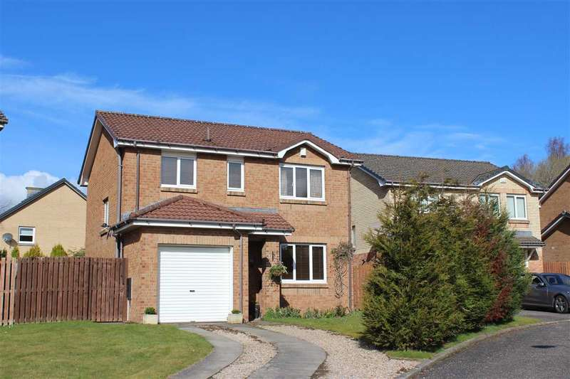 3 Bedrooms Detached House for sale in Marius Crescent, Motherwell