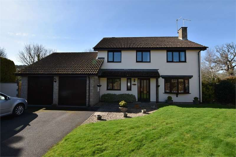 4 Bedrooms Detached House for sale in Castle Close, Flax Bourton, Bristol, North Somerset
