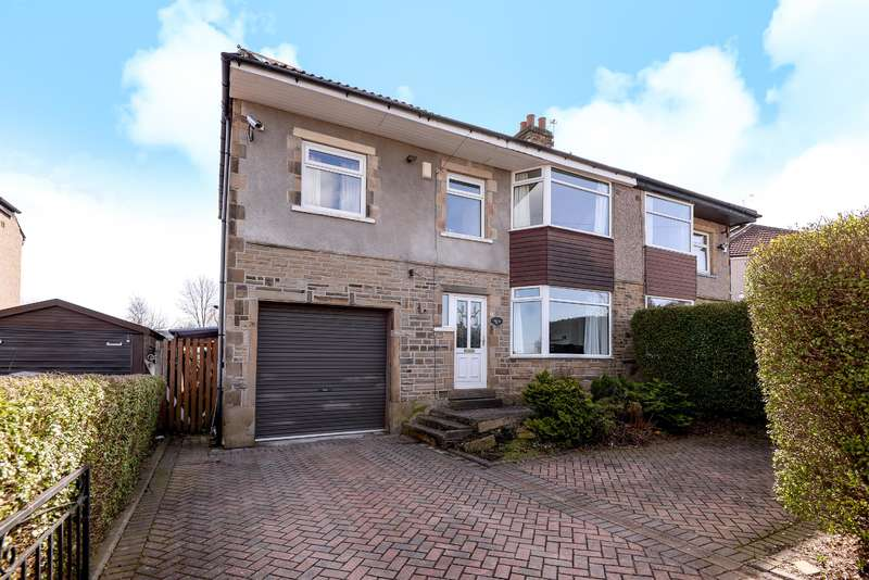 4 Bedrooms Semi Detached House for sale in Leafield Way, Bradford, BD2 3RY