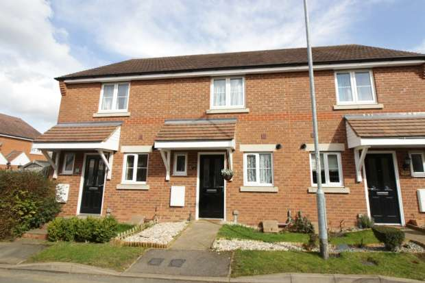2 Bedrooms Terraced House for sale in Maple Close, Bedford, Bedfordshire, MK45 5EF
