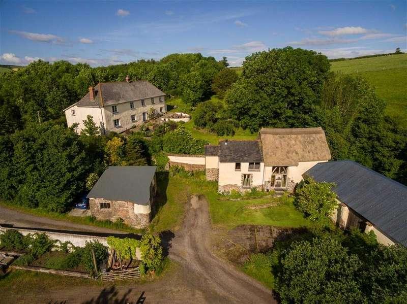 6 Bedrooms Detached House for sale in Morchard Bishop, Crediton, Devon, EX17