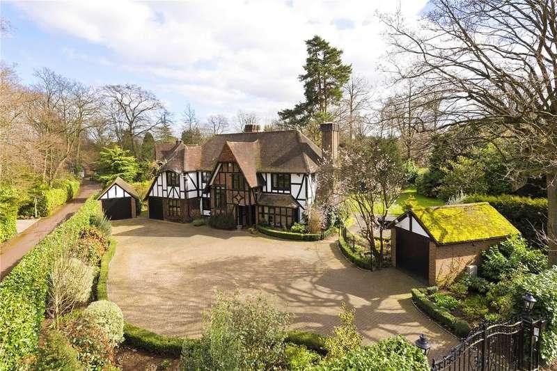 5 Bedrooms Detached House for sale in Silverdale Avenue, Ashley Park, Walton On Thames, Surrey, KT12