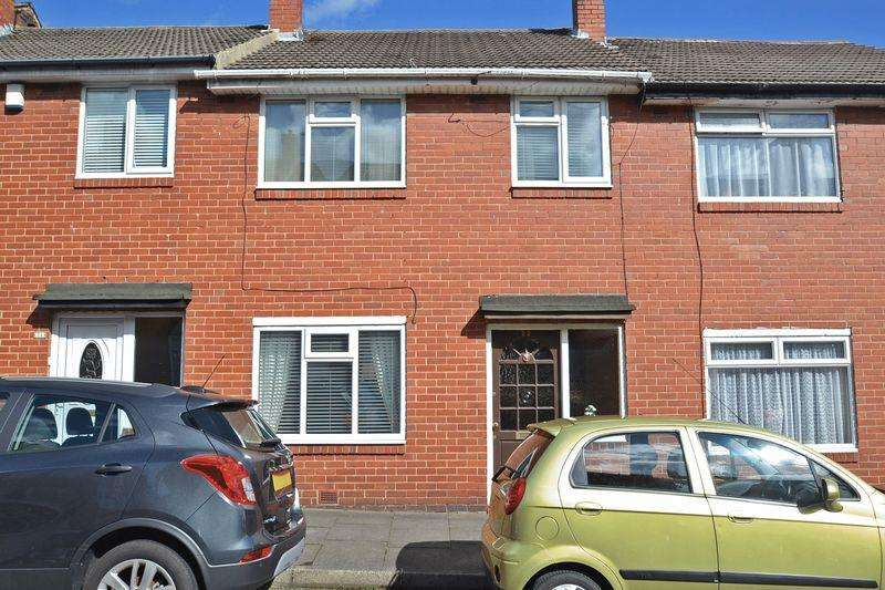 3 Bedrooms Terraced House for sale in Elsdon Terrace, North Shields