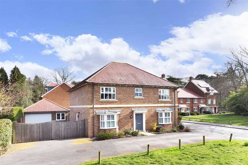 4 Bedrooms Detached House for sale in COLUMBUS DRIVE, SARISBURY GREEN
