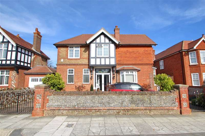4 Bedrooms Detached House for sale in Madeira Avenue, Worthing, West Sussex, BN11