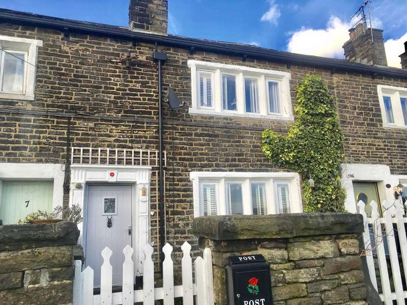 2 Bedrooms Terraced House for sale in Quickwood, Mossley, Ashton-under-lyne, Lancashire, OL5
