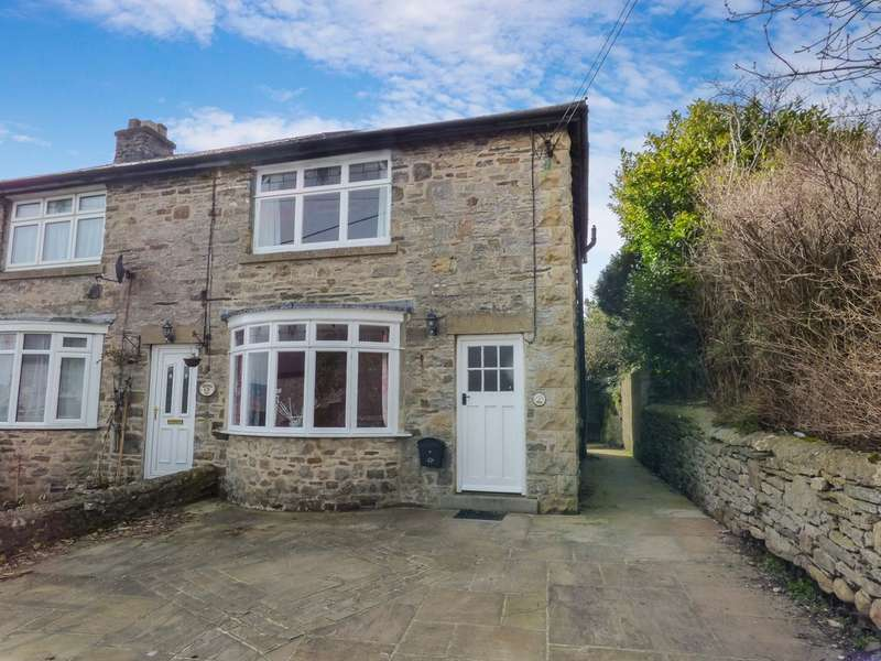 2 Bedrooms Semi Detached House for sale in Yoredale, Harmby