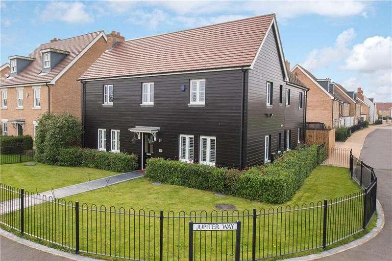4 Bedrooms Detached House for sale in Jupiter Way, Biggleswade, Bedfordshire