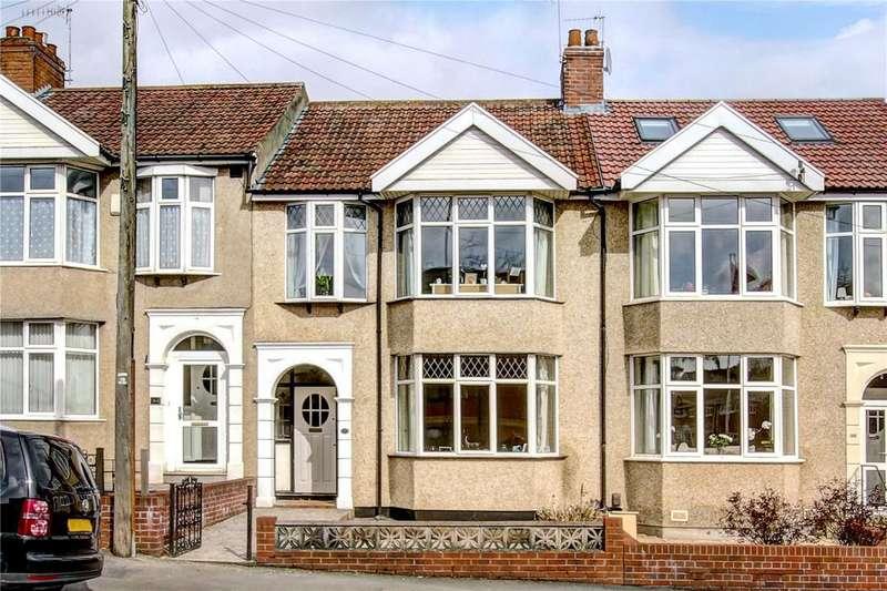 3 Bedrooms Terraced House for sale in Eastfield Road, Westbury-on-Trym, Bristol, BS9