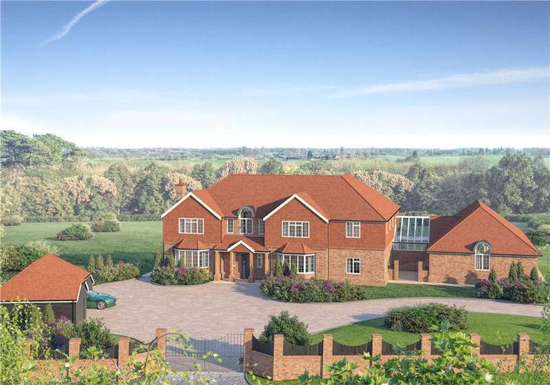 5 Bedrooms Detached House for sale in Grouse Road, Colgate, Horsham, West Sussex, RH13