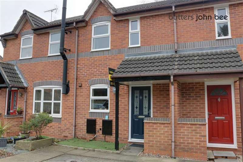 2 Bedrooms Town House for sale in Chestnut Grove, Stone, Staffordshire