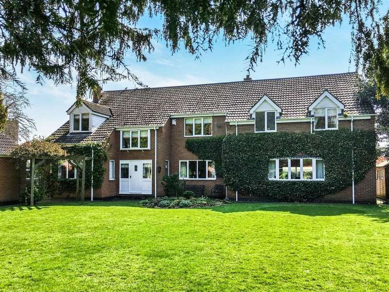 5 Bedrooms Detached House for sale in Church Lane, Lockington, Beverley