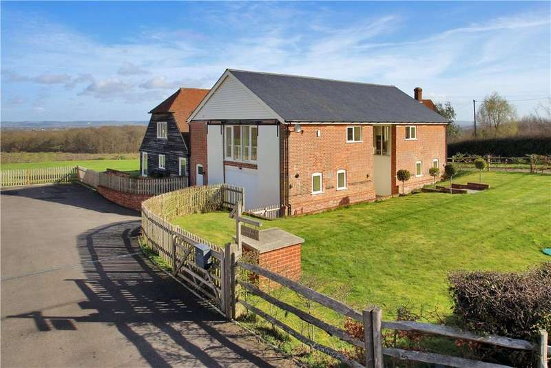 5 Bedrooms Detached House for sale in Folly Hill, Cranbrook, Kent, TN17