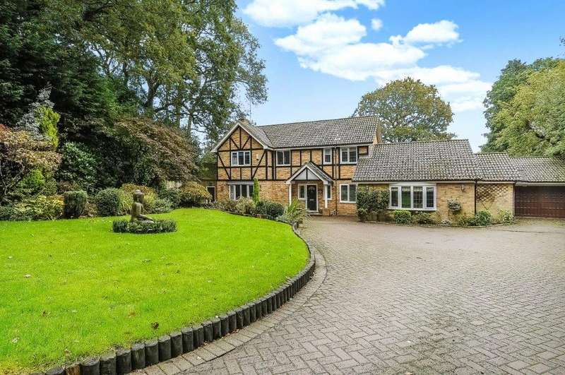 4 Bedrooms Detached House for sale in Golden Orb Wood, Binfield, Bracknell, Berkshire, RG42