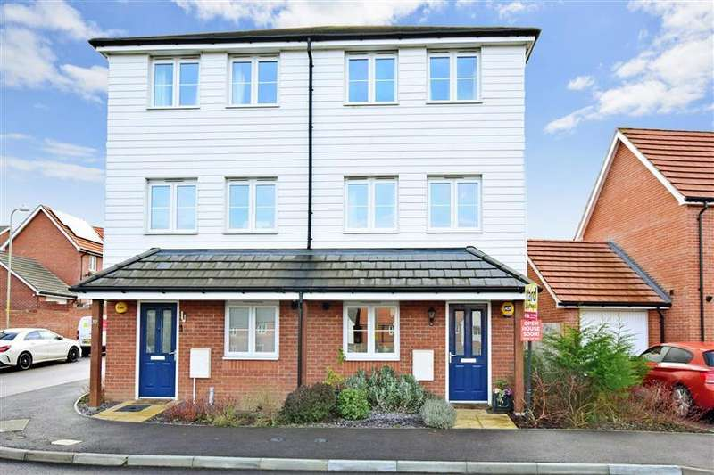 4 Bedrooms Semi Detached House for sale in Viscount Square, Herne Bay, Kent