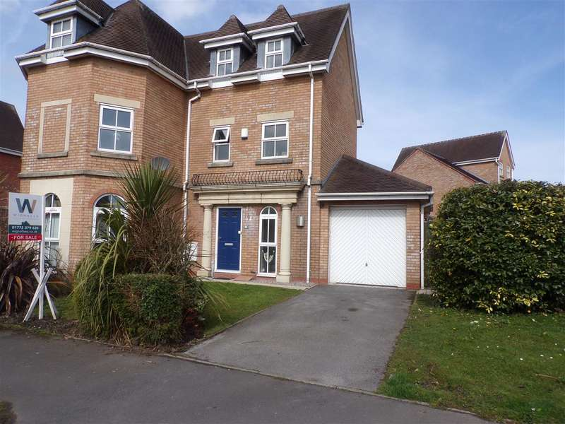 2 Bedrooms Town House for sale in Holland House Road, Walton Le Dale