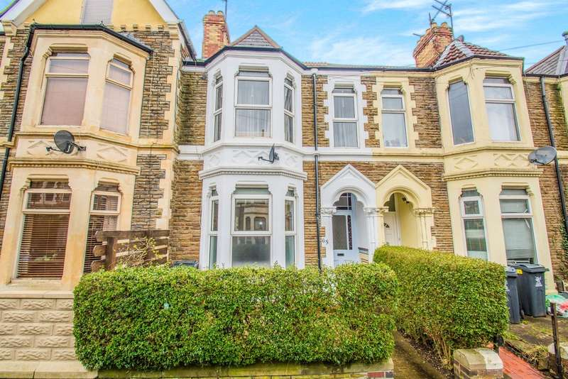 4 Bedrooms Terraced House for sale in Claude Road, Cardiff