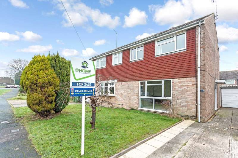 3 Bedrooms Semi Detached House for sale in Woodlands Way, Southwater