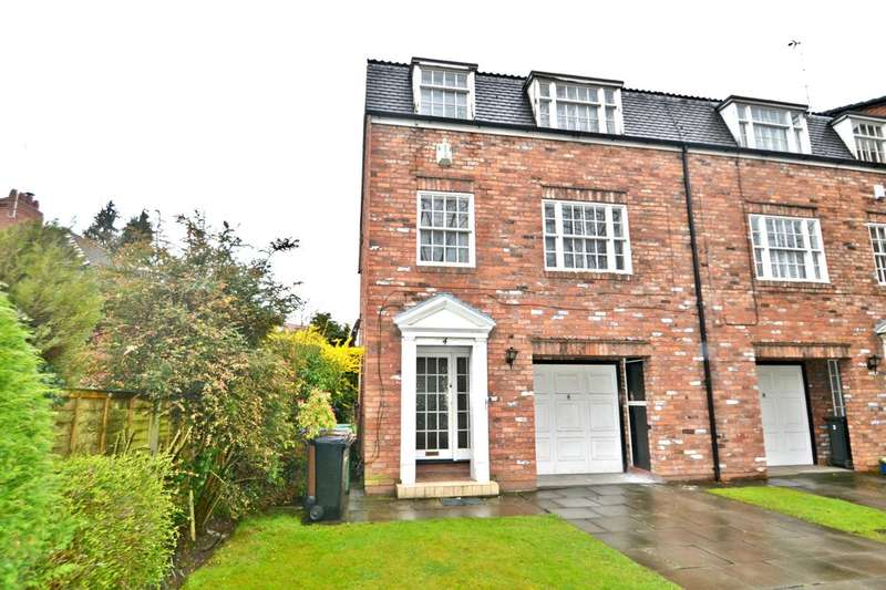 4 Bedrooms Town House for sale in Gatley Road, Gatley