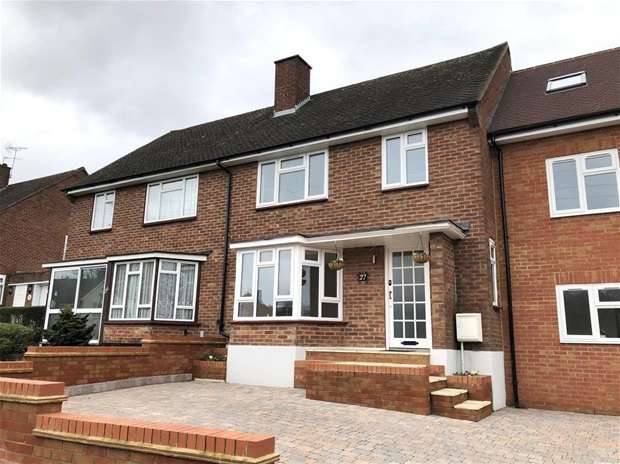 3 Bedrooms Terraced House for sale in Meriden Way, Watford