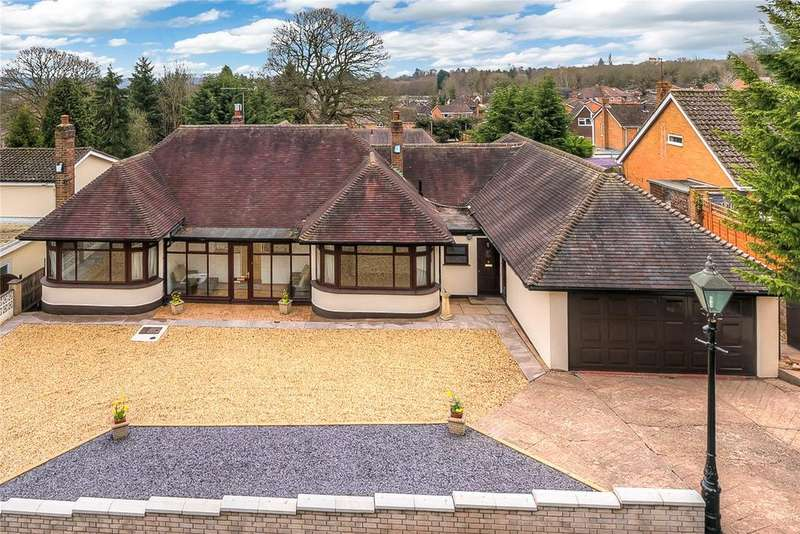 4 Bedrooms Detached Bungalow for sale in Ludlow Road, Bridgnorth, Shropshire