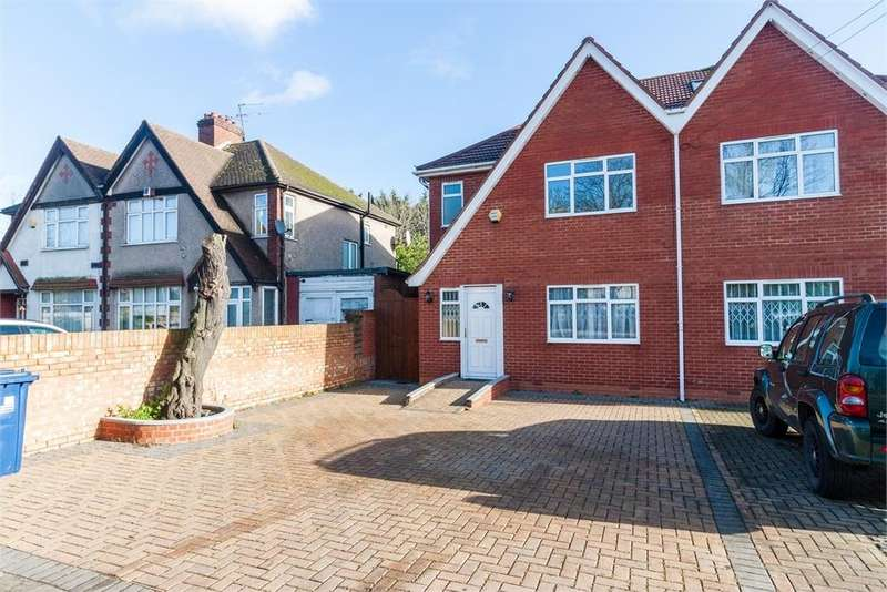 3 Bedrooms Semi Detached House for sale in Oldfield Lane North, Greenford, Greater London